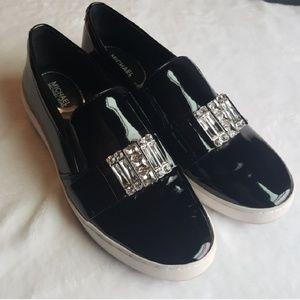 Michael Kors MK Michelle Slip On Patent Loafer